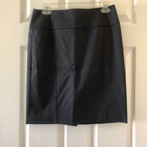Halogen navy business pencil skirt